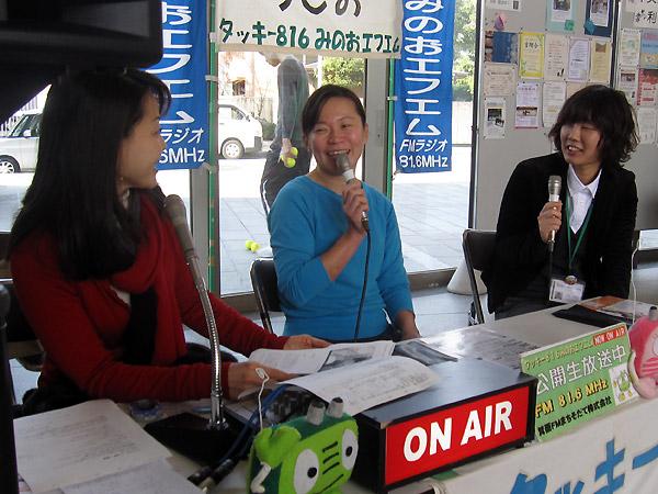 ゲスト:北村成美さん、竹田たまみさん(メイプルホール)