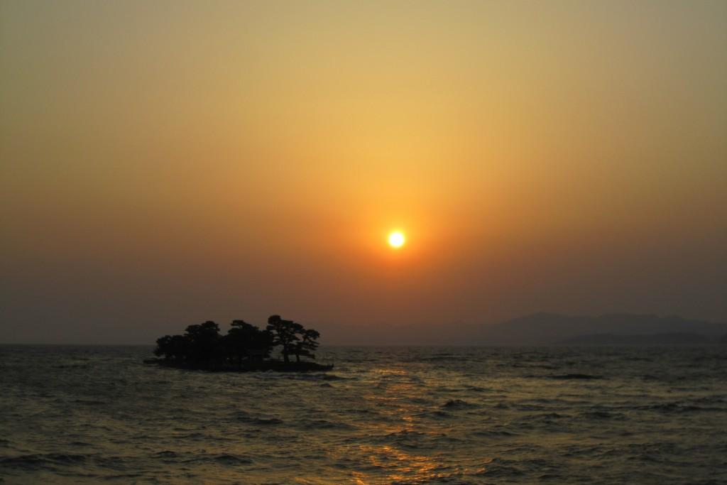 宍道湖(夕陽がとってもきれい!)